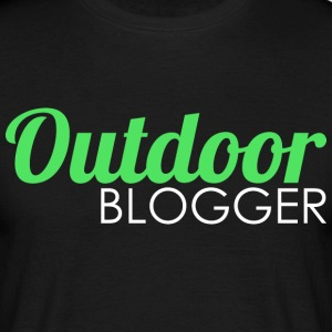 Outdoor blogger - Men's T-Shirt