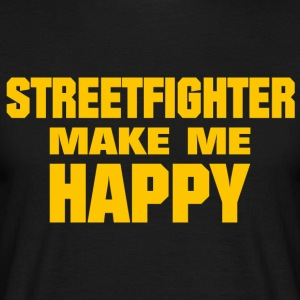 Streetfighter Make Me Happy - T-shirt Homme