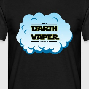 Darth Vaper Cloud - Männer T-Shirt