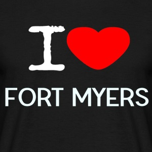 I LOVE FORT MYERS - Männer T-Shirt