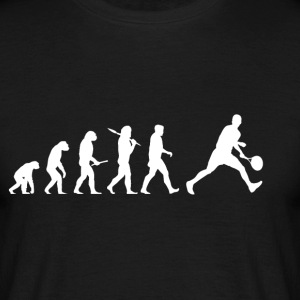 Evolution Tennis! lustig! - Männer T-Shirt
