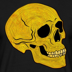 YellowSkull - Mannen T-shirt