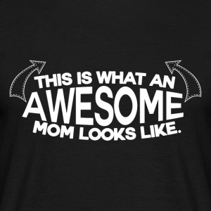 Awesome Mum - MOM - T-skjorte for menn