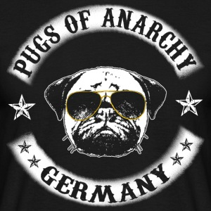 pugs of anarchy - Men's T-Shirt