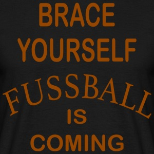Brace Yourself Football Is Coming - Brown - T-shirt Homme