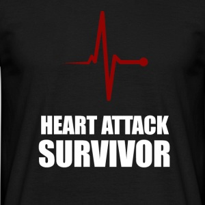Heart Attack Survivor - Männer T-Shirt