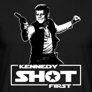 Kennedy shot first - Männer T-Shirt