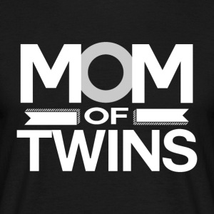 MOM av Twins -MothersDay - T-skjorte for menn