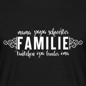 Family Love - Familie - Männer T-Shirt