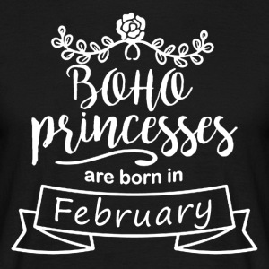Boho Princesses are born in February - Men's T-Shirt