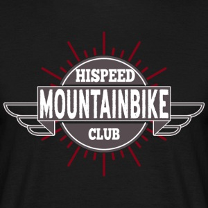 Mountainbike HiSpeedClub - Men's T-Shirt