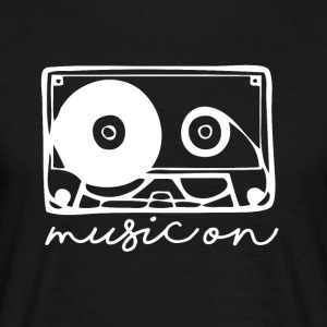 Music On - Musik Passion - T-shirt herr