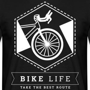 bike Life - Mannen T-shirt