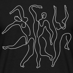 "Picasso ""Three Dancers"" white - Men's T-Shirt"