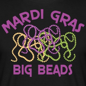 Mardi Gras Big Beads - T-shirt Homme