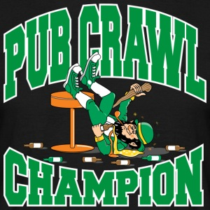 Irish Pub Crawl Champion - T-shirt herr