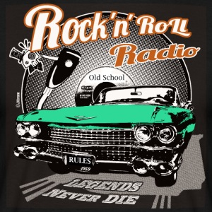 Rockandroll radio 03 color - Men's T-Shirt