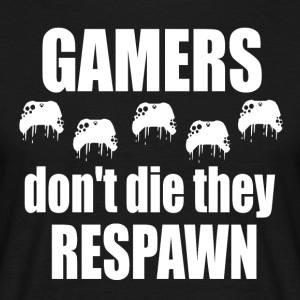 gamer respawn - T-shirt herr