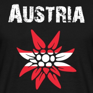Country-Design Austria Edelweiss - Men's T-Shirt