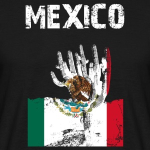 Nation design Mexico Saguaro - Herre-T-shirt