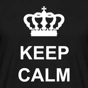 Keep Calm - T-shirt herr