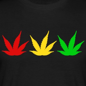 Reggae Weed - Men's T-Shirt
