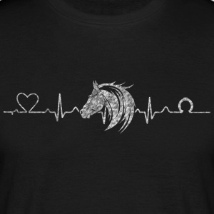 Heartline horse - Men's T-Shirt