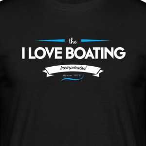 boating_logo_5 - T-skjorte for menn