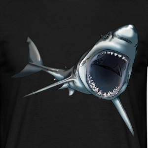 Grand requin blanc - T-shirt Homme