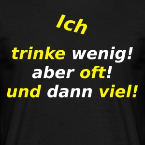 I-drink-bitars - T-shirt herr
