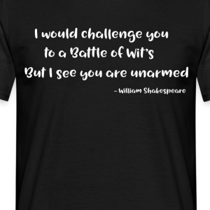 Shakespeare Quotes - Männer T-Shirt