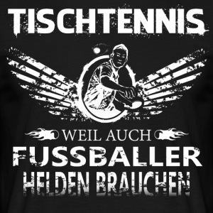 Bordtennis Heroes - T-shirt herr