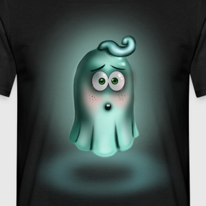 Little Turquoise Ghost - Men's T-Shirt