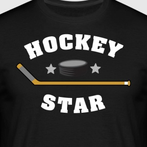 hockey Star - Mannen T-shirt