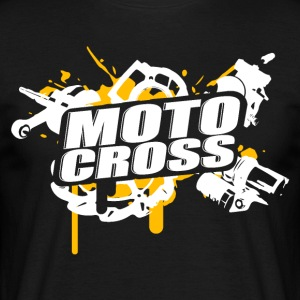 Motocross Supermoto Enduro Vol.I o/w - Männer T-Shirt