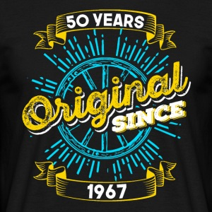 50th birthday 1967 - Men's T-Shirt
