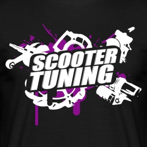 SCOOTERTUNING P / W - T-shirt Homme