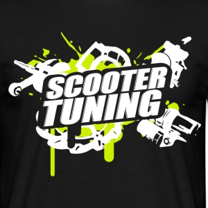 SCOOTERTUNING G / W - Camiseta hombre