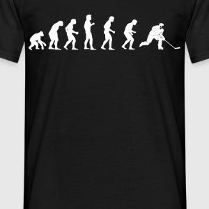 menneskelige evolution Hockey - Herre-T-shirt