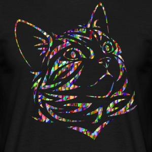 Rainbow Cat - T-skjorte for menn