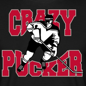 Hockey Crazy Punktering - Herre-T-shirt