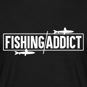 Fishing Addict - Fishing - Men's T-Shirt
