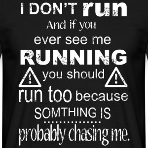 run - Men's T-Shirt