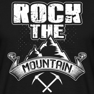 Rock the Mountain - Men's T-Shirt