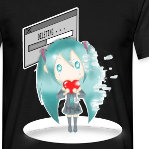 La disparition d'Hatsune Miku - T-shirt Homme