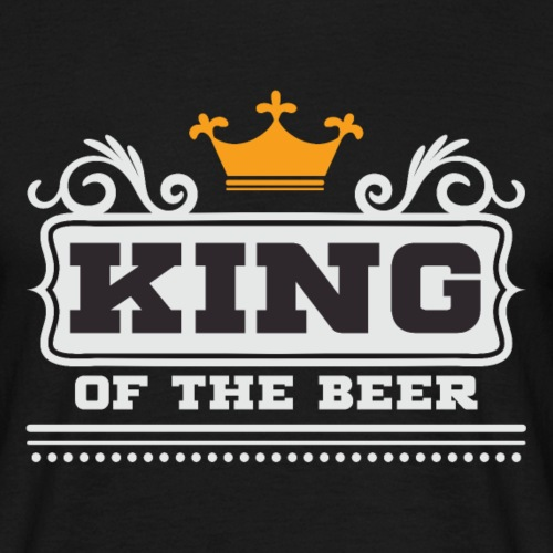 King of Beer - Camiseta hombre