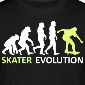 ++ ++ Skater Evolution - Mannen T-shirt