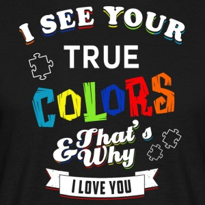 True Colors, Kærlighed - Herre-T-shirt