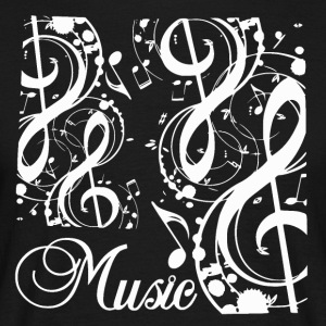 Music Notes - Music Passion - Mannen T-shirt