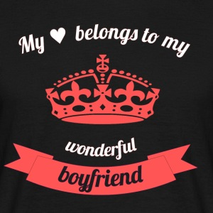 My boyfriend - Men's T-Shirt